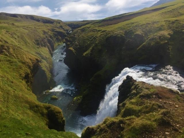 Skoga river, Fimmvörðuháls Pass