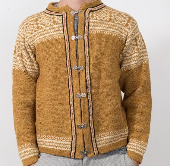 Vintage Scandinavian Men's Sweater