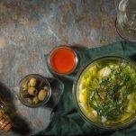 Portuguese soup Caldo Verde