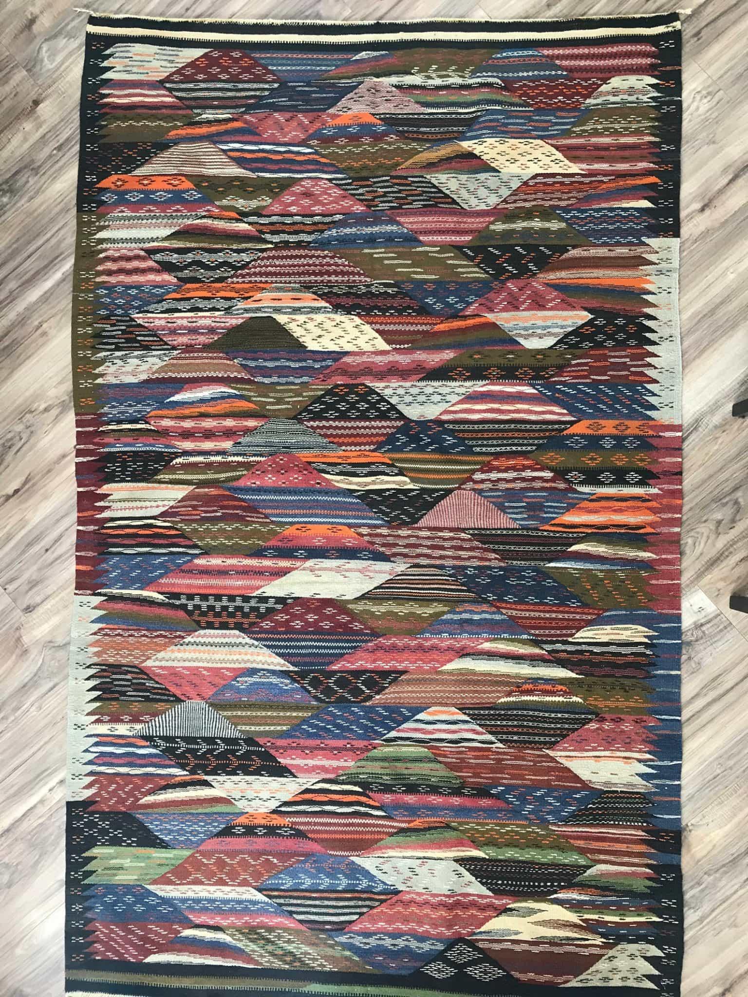 Moroccan Berber Handmade Wool Rug