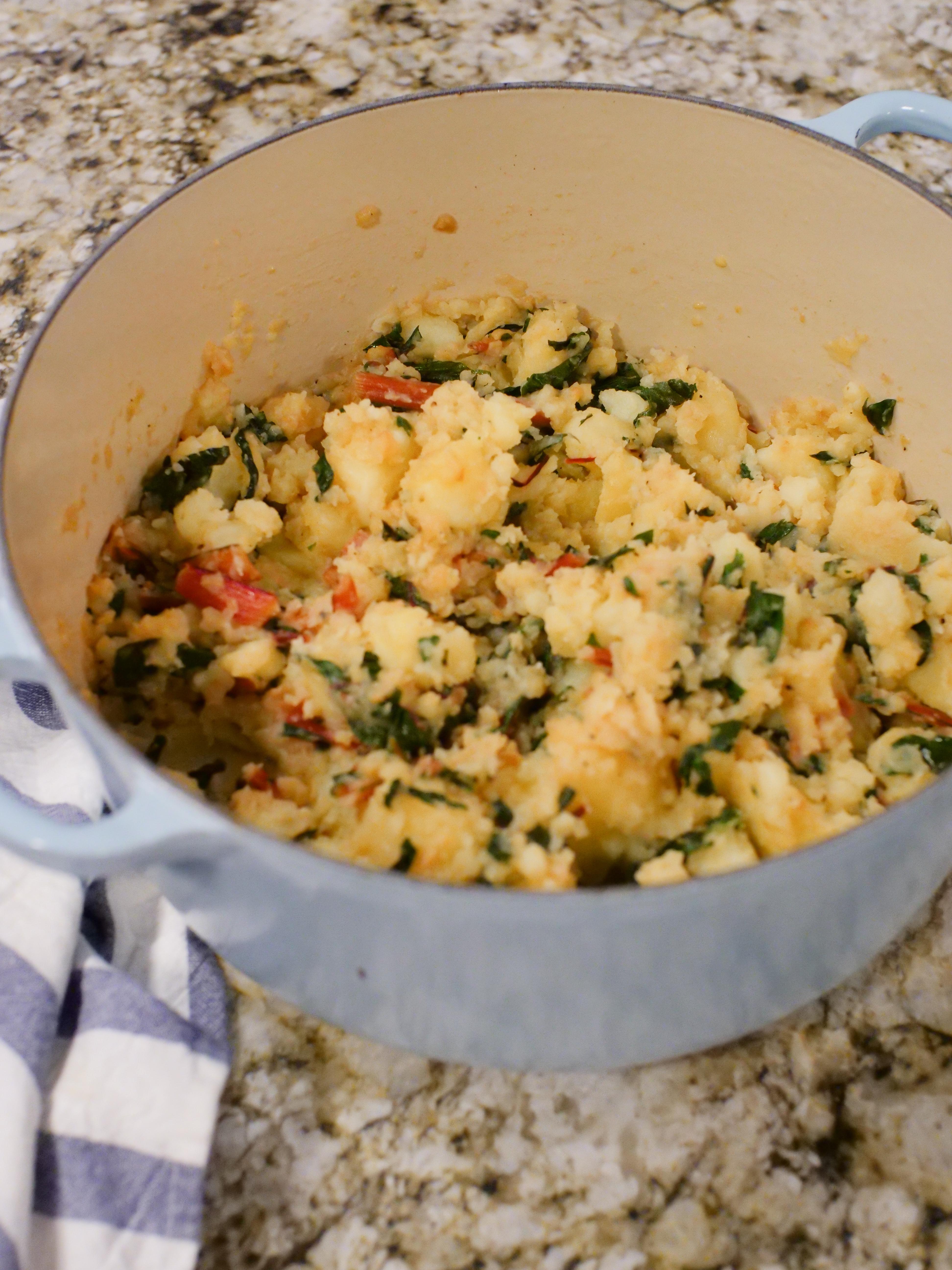 Chard & Potatoes aka Blitva Recipe