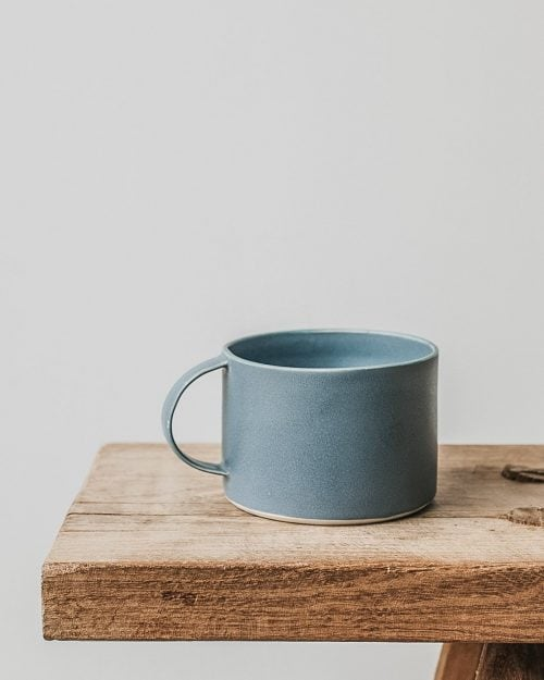 handmade ceramic coffee mug