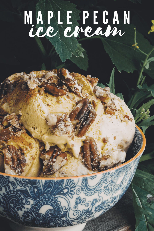 bowl of raw cream homemade ice cream